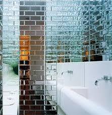 12x12 Mirror Tiles Beveled by Paris Metro Tile Google Search Basement Bathroom Pinterest