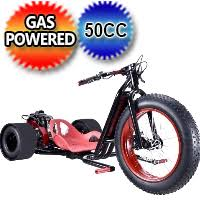 ScooterX 49cc Drift Master Trike With 22 Front