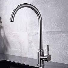 gavaer wasserhahn küche 360 drehbar küchenarmatur kaltes und heißes wasser vorhanden küchenarmaturen aus edelstahl neues verbessertes