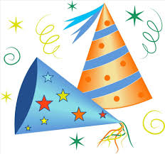 Birthday Decoration Clip Art Happy Py Supplies And S Hats Transparent Png Gallery