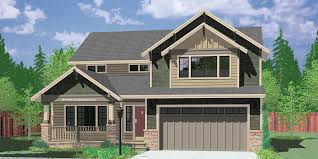 The Two Story Bedroom House Plans by Two Story Craftsman Plan With 4 Bedrooms 40 Ft Wide X 40 Ft