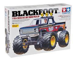 100 Rc Tamiya Trucks Blackfoot 2016 2WD Electric Monster Truck Kit TAM58633