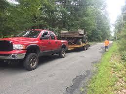 100 Cummins Pulling Truck My 05 Cummins Pulling Home My New Rotted Out 78 D300 Ram_trucks