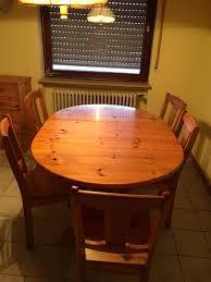 esszimmer massivholz tisch inkl stühle