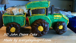 Take You For A Ride On My Big Green Tractor…. Cake | Every Day In April