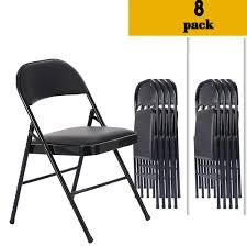 Zimtown 8 PACK Folding Chair Fabric Upholstered Padded Seat Metal Frame  Home Office 1000 Lb Max Black Resin Folding Chair Elegant Mahogany Chairs With Padded Seat For Events Buy Chairmahogany Chairpadded Product On Handcrafted Teakwood Bamboo Becak Ascot Ding Suite With Highback Recliner New Design Modern Beach Camping One Pack Amazoncom Wghbd Solid Wood Stool Computer 4pcs Foldable Iron Pvc For Cvention Exhibition Khaki Clearance Minimalistic Cute Elegant Fox Drawing Lineart Sling By Guntah Side Party Planning Folding Chair Wooden