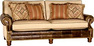 Awesome Fabric And Leather Sofa Tatsuyoru