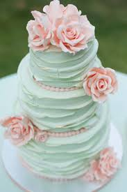 25 Mint Wedding Cakes Youll Love We This Moncheribridals