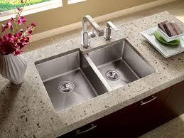 Overmount Double Kitchen Sink by Stainless Steel Drop In Kitchen Sinks U2014 The Homy Design
