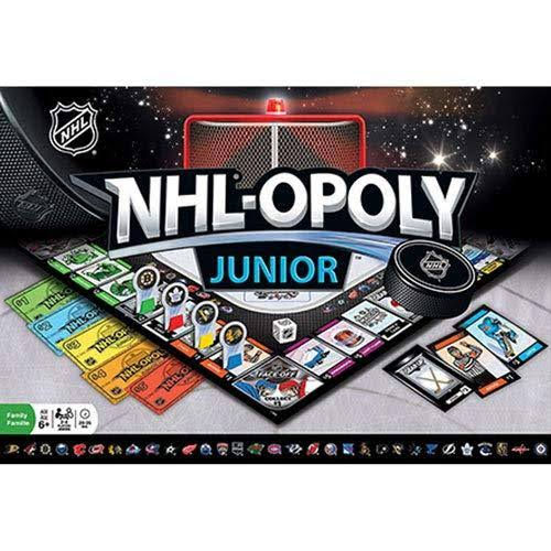 MasterPieces Nhl-opoly Junior Board Game
