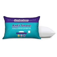 Slumberdown Anti Snore Pillow White Amazon Kitchen & Home