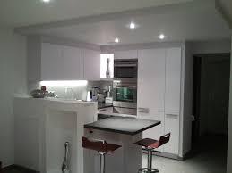 cuisine faux plafond faux plafond cuisine finest great cuisine blanche with eclairage