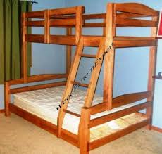 building bunk beds free diy furniture plans how to build a queen