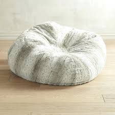 Small Bean Bag Chairs Image Of Fuzzy Faux Fur For Classroom Full Size