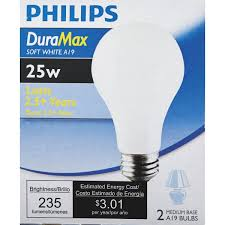 philips duramax medium a19 incandescent light bulb 168682