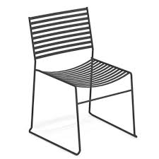 Aero Outdoor Dining Chair By Emu Comfortcare 5piece Metal Outdoor Ding Set With 52 Round Table T81 Chair Provence Hampton Bay Mix And Match Stack Patio 49 Amazoncom Christopher Knight Home Lala Grey 7 Chairs Of 4 Tivoli Tub Black Merilyn Rope Steel Indoor Beige Washington Coal Click Pc Stainless Steel Teak Modern Rialto Rectangle 6
