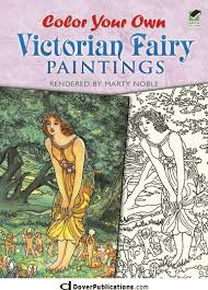 Fishpond New Zealand Color Your Own Victorian Fairy Paintings Dover Art Coloring Book By Marty Noble Buy Books Online