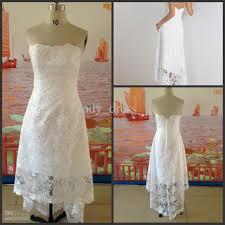 best beach wedding dress hi lo high quality white hi lo wedding