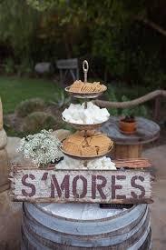 Smores For A Western Wedding Elegant Party DecorationsWestern DecorationsRustic