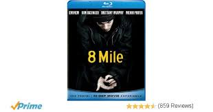 Amazon 8 Mile Blu ray Eminem Kim Basinger Mekhi Phifer