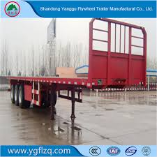 China 20FT 40FT Container/Utility/Cargo Flatbed/Platform Truck Semi ...