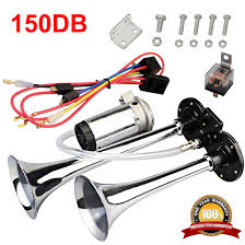 Mirkoo 12V 150db Air Horn Kit, Super Loud Twin Tone Chrome Plated ... Voluker 4 Trumpet Train Air Horn Kit150db Loud Compressor Amazoncom Iglobalbuy Super 12v Dual 150db Truck Mega Single Kit W Dc 12v Emergency Fire Ftkit Horns Of Texas Mirkoo Twin Tone Chrome Plated Air Horn Kit Diesel Pinterest Trucks Chevy Car Boat 117 Wolo Mfg Corp Air Horns Horn Accsories Comprresors Pcwizecom Truhacks Triple Boss Suspension Shop Kits Model Hk2 Kleinn Mpc M1 Review Best Unbiased Reviews