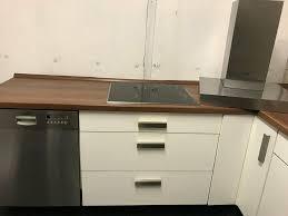 küche weiss matt alles schubladen mit selbsteinzug l form gross t
