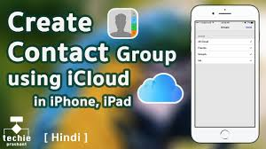How to Create Contact Group in iPhone iPad Using iCloud iOS10