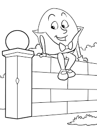 Nursery Rhymes Coloring Pages 2550x3300 Free Download