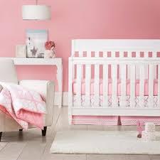 Pink Crib Bedding by Solid Pink Crib Bedding Target