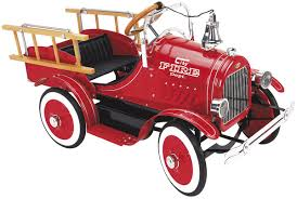 100 Antique Fire Truck Pedal Car 12620 Free Shipping On Orders Over 99 At