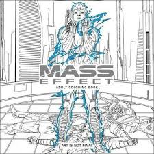 Mass Effect Adult Coloring Book Amazonca Bioware Books