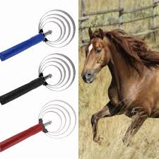 Shedding Blade For Horses by 4 Cycle Stainless Steel Loop Shedding Blade Sweat Scraper For