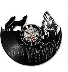 ltood hollow wolf modell schallplatte uhr einzigartige rétro