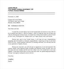Invitation Letter Sample For Visitor Visa Gallery Invitation