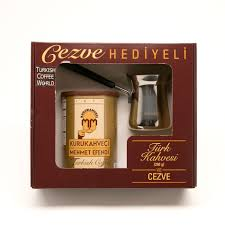 Turkish Coffee By Kurukahveci Mehmet Efendi With A Pot