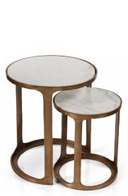 Zodax Nikki Set Of 2 Round Marble Top Nesting Tables | Nordstrom Nesting Tables Set Of 2 Havsta Gray Josef Albers Tables 4 Pavilion Round Set Zib Gray Piece Oslo Retail 3 Modern Reflections In Blackgold Two Natural Pine And Grey Zoa Nesting Tables Set Of Lack Black White Contemporary Solid Wood Maitland Smith Faux Bamboo