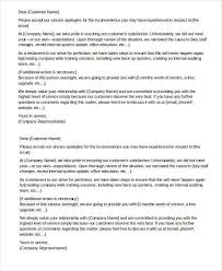 Business Apology Letter For Mistake Gallery Letter Examples Ideas