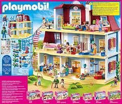 playmobil dollhouse 70205 mein großes puppenhaus mit funktionsfähiger türklingel ab 4 jahren