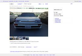 Craigslist Warning - 1986 Crx Bay Area - Off-Topic - Red Pepper Racing Craigslist Tampa Bay Area Cars And Trucks 2018 2019 New Car Area Becomes Top Spot In Nation For Auto Theft Cbs San Francisco Sale Fl The Amazing Toyota Houston Tx Elegant Sf By Atlanta And Owner 82019 Jim Browne Chevrolet This 1988 Jeep Comanche On Might Be The Cleanest One In Luis Obispo Release 20 Homes User Guide Manual That