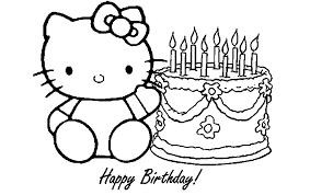 Printable Happy Birthday Coloring Page Sister Pages