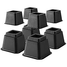 Bed Risers Target by Amazon Com Creative Bath Products Adjustable Bed Riser System
