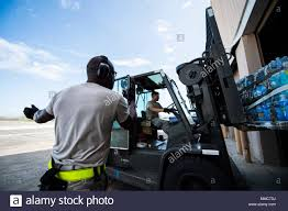 100 National Lift Truck Service Senior Airman Miguel Rodriguez An Aerial Porter Assigned To
