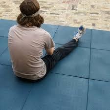 eco sport 3 4 inch interlocking rubber flooring tiles