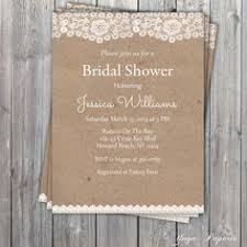 Rustic Bridal Shower Invitations Combined With Your Creativity Will Make This Looks Awesome 1