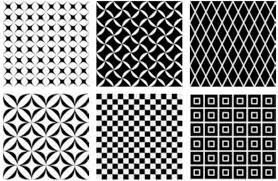 floor and wall tiling aspect cx ciment black white decor