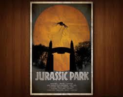 Jurassic Park Poster Multiple Sizes