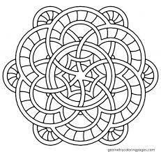 Printable Mandala Coloring Pages Adults Free Celtic Mandalas To Color Designs