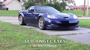c6 z06 w led eye headlights and led lights