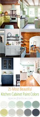 Color Ideas For Painting Kitchen Cabinets 25 Gorgeous Kitchen Cabinet Colors Paint Color Combos A